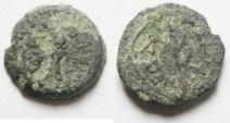 Ancient Coins - Judaea , Herod I RARE Aphlaston Prutah