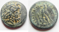 Ancient Coins - PTOLEMY II AE 24. TYRE MINT