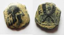 Ancient Coins - NABATAEAN KINGDOM. SYLLAUES AE 14