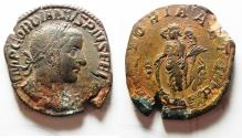 Ancient Coins - GORDIAN III AE SESTERTIUS.