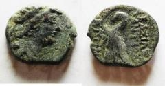 Ancient Coins - SELEUCID EMPIRE.Antiochus VIII 121-96 BC. AE 18. Mint of ANTIOCH
