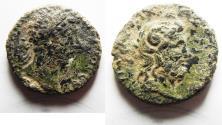 Ancient Coins - CYRENAICA, Cyrene. Marcus Aurelius. AD 161-180. Æ 21