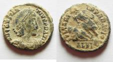 Ancient Coins - ORIGINAL DESERT PATINA: CONSTANTIUS II AE 3. ALEXANDRIA