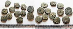 Ancient Coins - JUDAEA. LOT OF 12 AE PRUTAH COINS