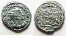 Ancient Coins - DIOCLETIAN AE ANTONINIANUS. NICE