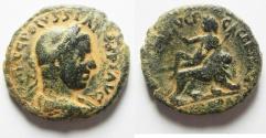 Ancient Coins - VERY RARE COIN IN THIS CONDITION: Judaea. Caesarea Maritima under Volusian (AD 251-253). AE 26mm, 12.14g.