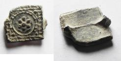 Ancient Coins - ANCIENT MAMLUK LEAD WEIGHT. 1400 A.D.