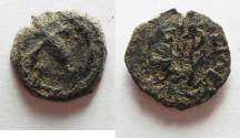 Ancient Coins - Herod the Great 37 - 4 BC. AE Prutah. AS FOUND