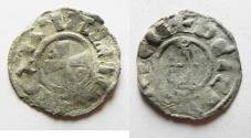 World Coins - CRUSADERS STATE OF JERUSALEM. BALDWIN SILVER DENIER