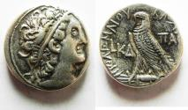 Ancient Coins - PTOLEMAIC KINGS . Kleopatra III & Ptolemy IX Soter II (Lathyros). 116-107 BC.