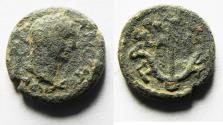 Ancient Coins - JUDAEA. Galilee, Tiberias. TRAJAN AE 14
