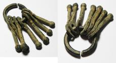 Ancient Coins - ANCIENT BRONZE PHALLIC? CHAIN. ROMAN OR EARLIER. 2000 YEARS