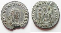 Ancient Coins - NICE MAXIMIANUS AE ANTONINIANUS