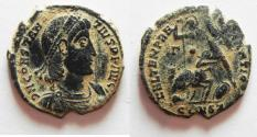 Ancient Coins - CONSTANTIUS II AE CENT. CONSTANTINOPLE MINT