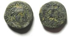 Ancient Coins - ARABIA , ADRAA OR PETRA , BARBARIC ISSUE , ELAGABALUS