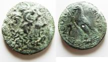 Ancient Coins - Ptolemaic Kingdom of Egypt. Ptolemy IV Philopator AE 33 mm. 222-204 BC. Alexandria mint.