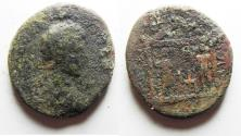Ancient Coins - NEEDS CLEANING: JUDAEA, Gaza. Septimius Severus. AD 193-211. Æ 28