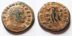 Ancient Coins - ORIGINAL DESERT PATINA: LICINIUS I AE FOLLIS