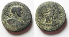 Ancient Coins - ARABIA. PETRA. HADRIAN. AE 26