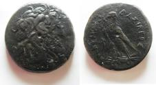 Ancient Coins - EGYPT. PTOLEMAIC KINGDOM PTOLEMY IV AE 41