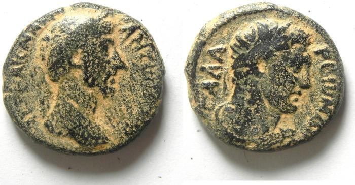 Ancient Coins - DECAPOLIS  GADARA , LUCIUS VERUS AE 25