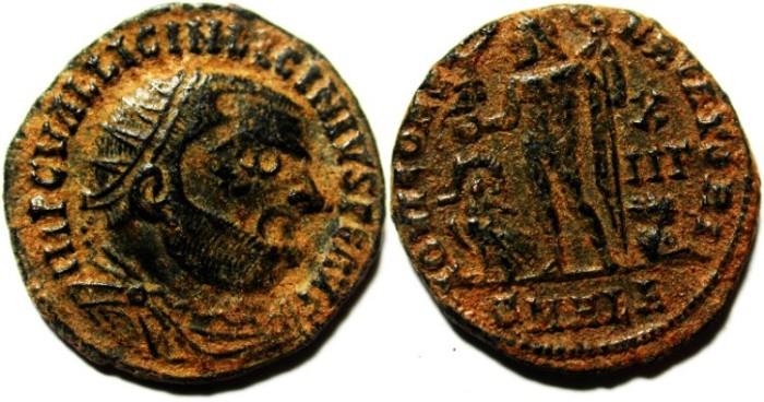 Ancient Coins - CHOICE LICINIUS I AE FOLLIS
