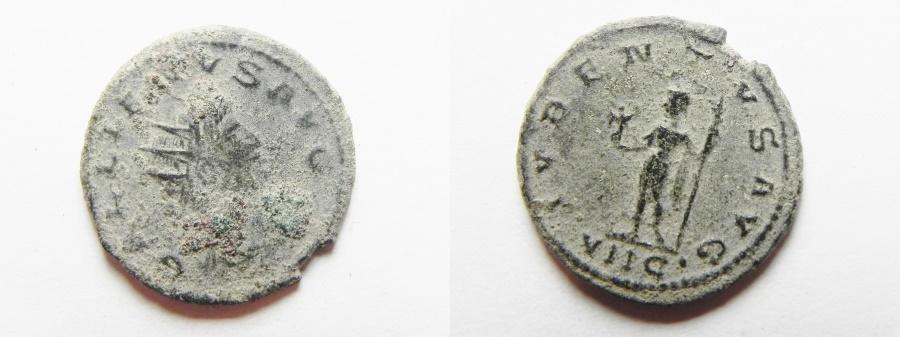 Ancient Coins - GALLIENUS AE ANTONINIANUS AS FOUND