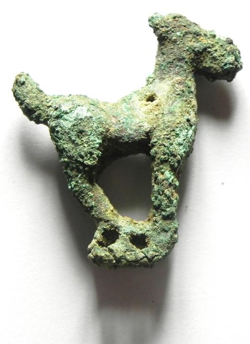 Ancient Coins - PERSIAN -  OCCUPATION OF THE HOLY LAND , 4TH  CENT. B.C , BRONZE ANIMAL FIGURE