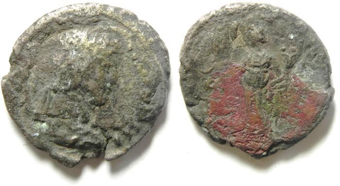 Ancient Coins - EGYPT , ALEXANDRIA , HADRIAN BILLON TETRADRACHM
