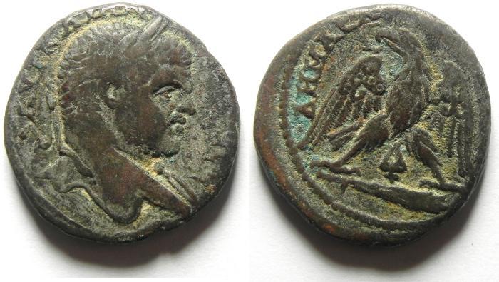 Ancient Coins - Caracalla: A.D. 198-217. AR Tetradrachm, Phoenicia: Tyre