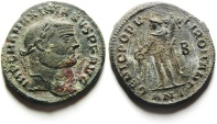 Ancient Coins - LARGE MAXIMIAN AE FOLLIS