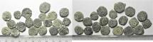 Ancient Coins - LOT OF 20 HASMONEAN / JUDAEAN AE PRUTOT