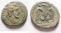 Ancient Coins - Egypt. Alexandria under Antoninus Pius (AD 138-161). Billon tetradrachm, Beautiful reverse!!!
