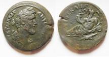 Ancient Coins - Nice Quality: Egypt. Alexandria under Antoninus Pius (AD 138-161). AE drachm