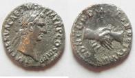 Ancient Coins - Nerva Silver Denarius