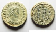Ancient Coins - AS FOUND CONSTANTIUS II AE 3