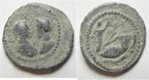 Antinoos: Egypt. Alexandria. Second-third centuries AD. Lead tessera (21mm, 4.40g).