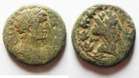 Ancient Coins - JUDAEA. PHOENICIA, DORA. Antoninus Pius, 138-161 AD. AE23