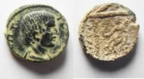Ancient Coins - ARABIA. PETRA. GETA AE 20 . AS FOUND