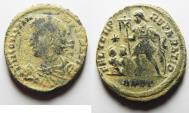 Ancient Coins - CONSTANTIUS II AE FOLLIS. AS FOUND