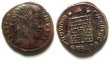 Ancient Coins - CONSTANTINE I AE 3 , CAMP GATE, ANTIOCH