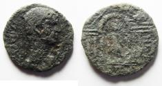 Ancient Coins - PARTIALLY CLEANED . PROVINCIAL AE 24