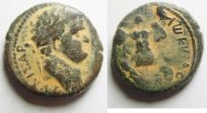 Ancient Coins - Judaea Capta . Judaea. Judaea Capta series. Caesarea Maritima under Titus (79-81 CE). AE 24