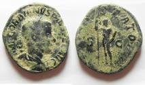 Ancient Coins - BEAUTIFUL AS FOUND: PHILIP II AE SESTERTIUS