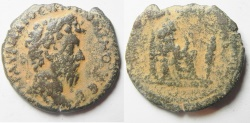 Ancient Coins - Egypt. Alexandria under Marcus Aurelius (AD 161-180).  AE drachm (31mm, 12.17g).