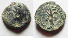 Ancient Coins - SELEUKID KINGDOM AE 15. AS FOUND. TYRE MINT