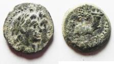 Ancient Coins - SELEUKID KINGDOM AE 16. AKO MINT