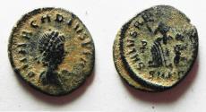 Ancient Coins - NICE ARACADIUS AE 4