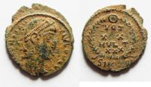 Ancient Coins - AS FOUND CONSTANS AE 4