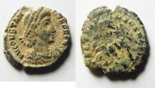Ancient Coins - CONSTANS  AE 3 . AS FOUND